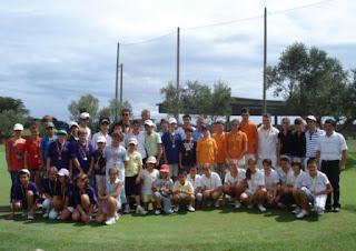 Participants Parelles Juvenils Pitch and Putt Campionat Catalunya