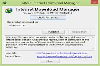 Internet Download Manager (IDM) 6.23 Build 12