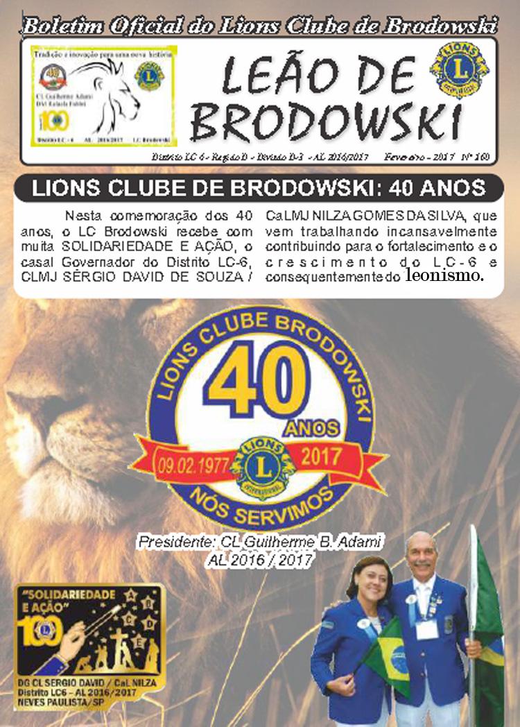 LC BRODOWSKI - 40 ANOS