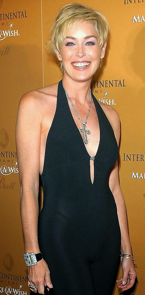 Sharon Stone Famous Cameltoe