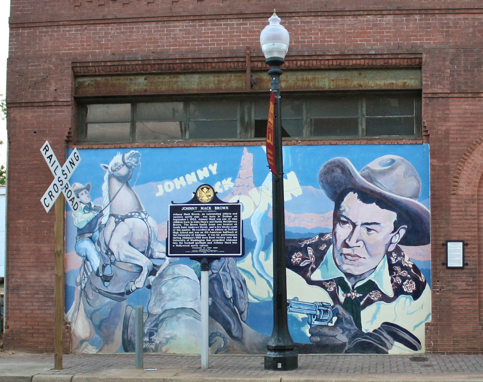 Ca hjocky and the old salt dothan murals 4 for Alabama football mural