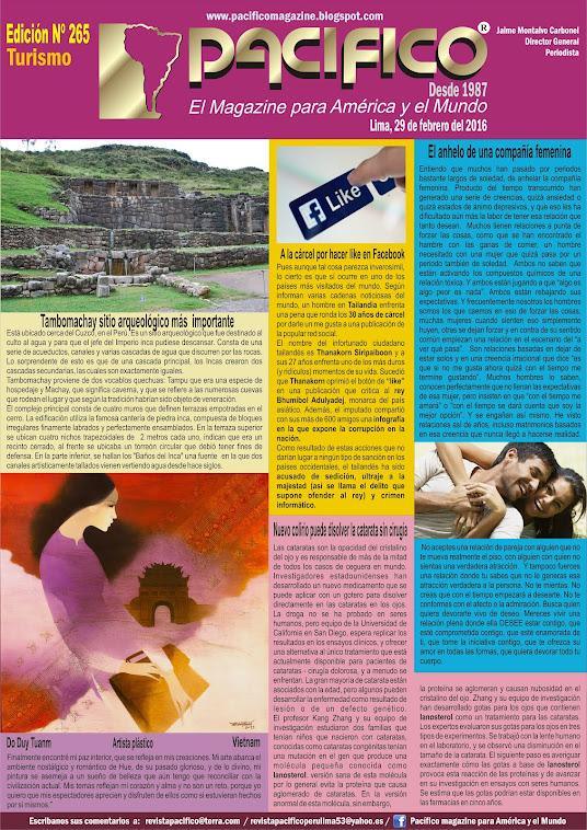 Revista Pacífico Nº 265