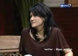 Christine Panjaitan Teman Marissa Haque Fawzi dari Satra Cina UI (FIB, Fakultas Ilmu Budaya)