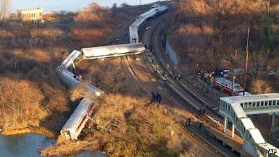 Ít nhất 4 người thiệt mạng trong tai nạn đường sắt ở New York
