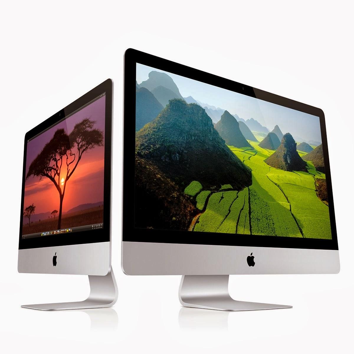 Современные модели iMac
