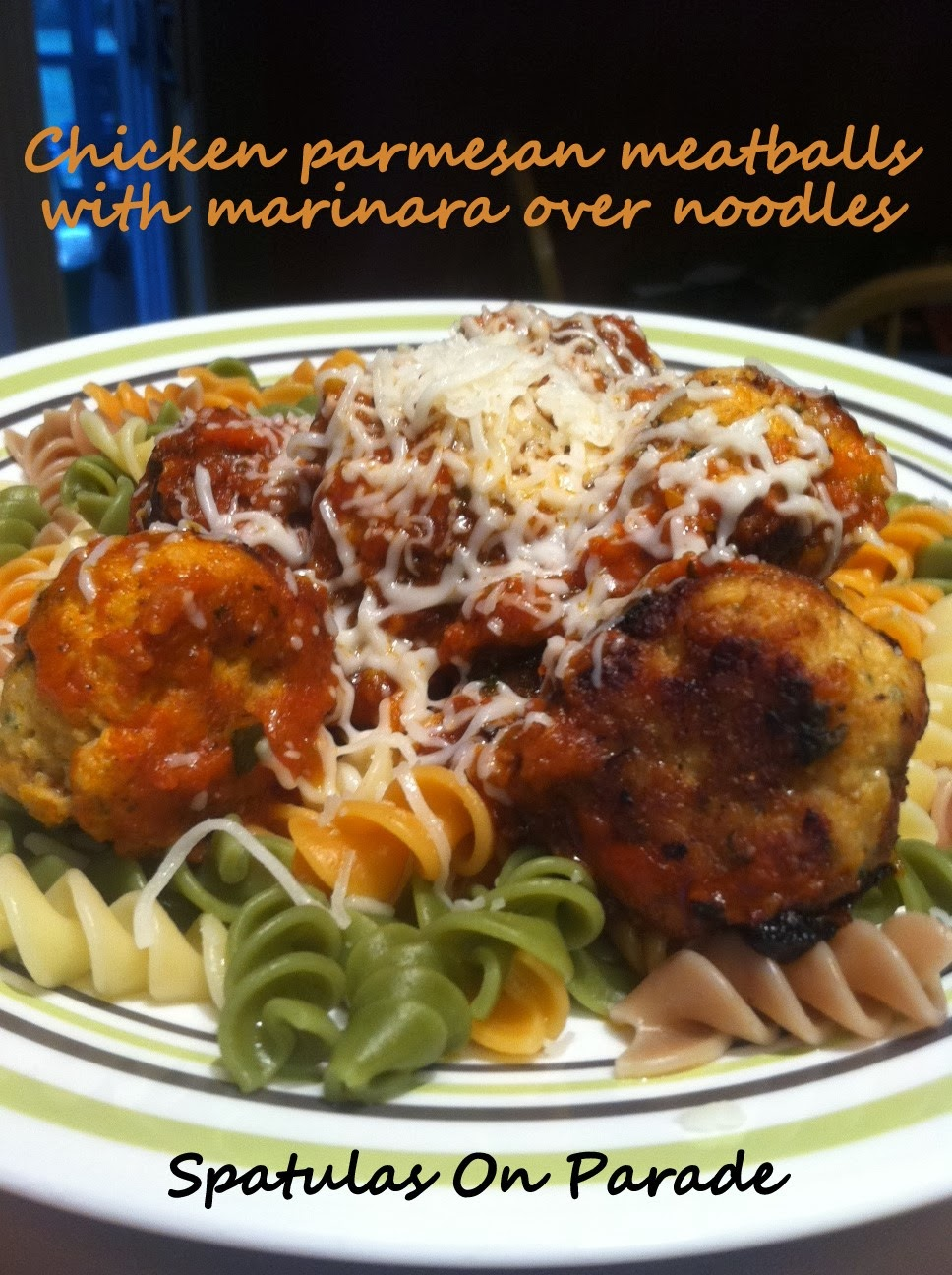 Spatulas On Parade: Chicken Parmesan Meatballs