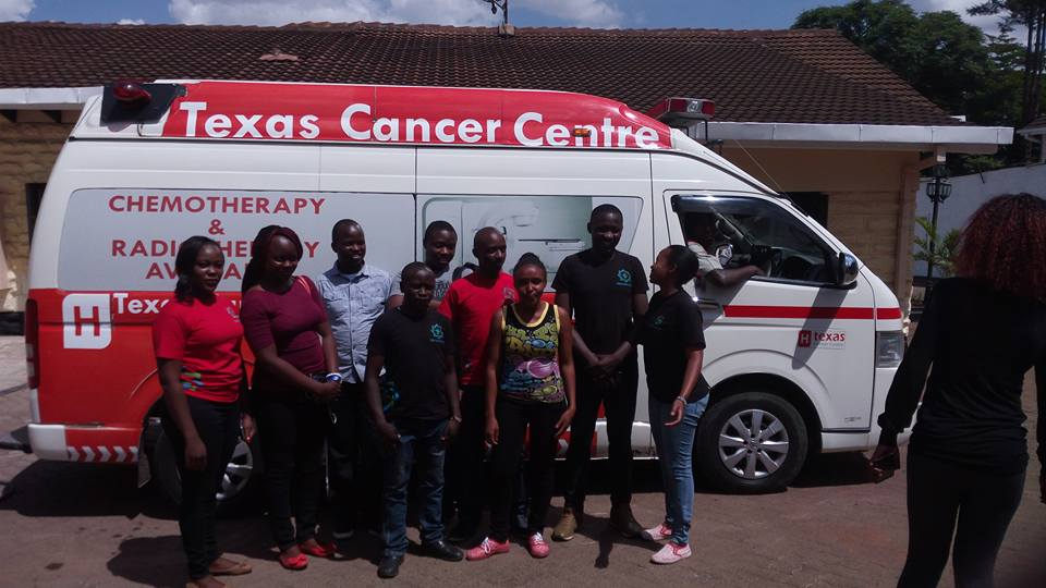 Nipe Sauti Africa at Texas Cancer Centre