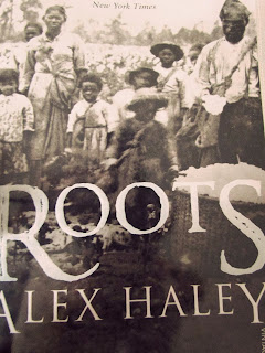 Roots, book cover, photograph, Alex Haley, Pulitzer Prize, review, paperback, book&acuppa, Book and a cuppa, bookandacuppa, black and white, slavery, genealogy
