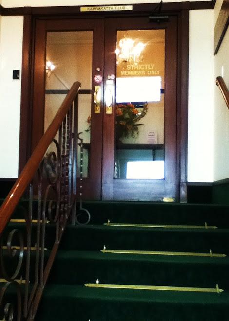 Karrakatta Club Entrance