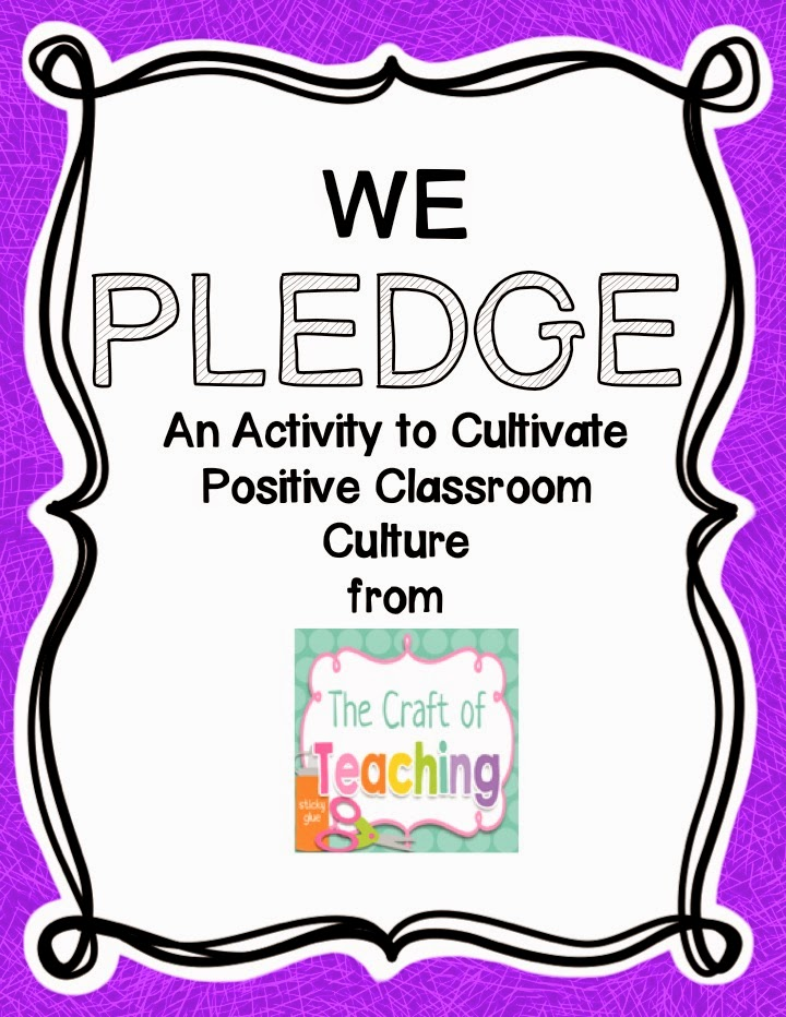 http://www.teacherspayteachers.com/Product/We-Pledge-A-Classroom-Culture-Activity-1640049