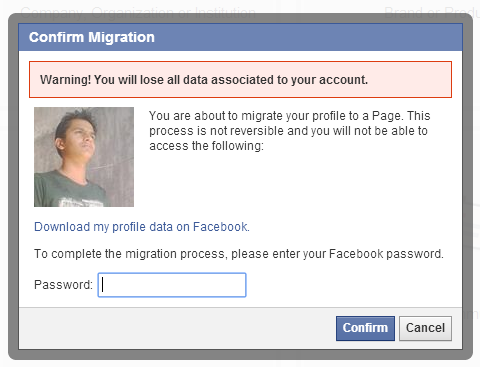 warning-convert-profile-into-facebook-page