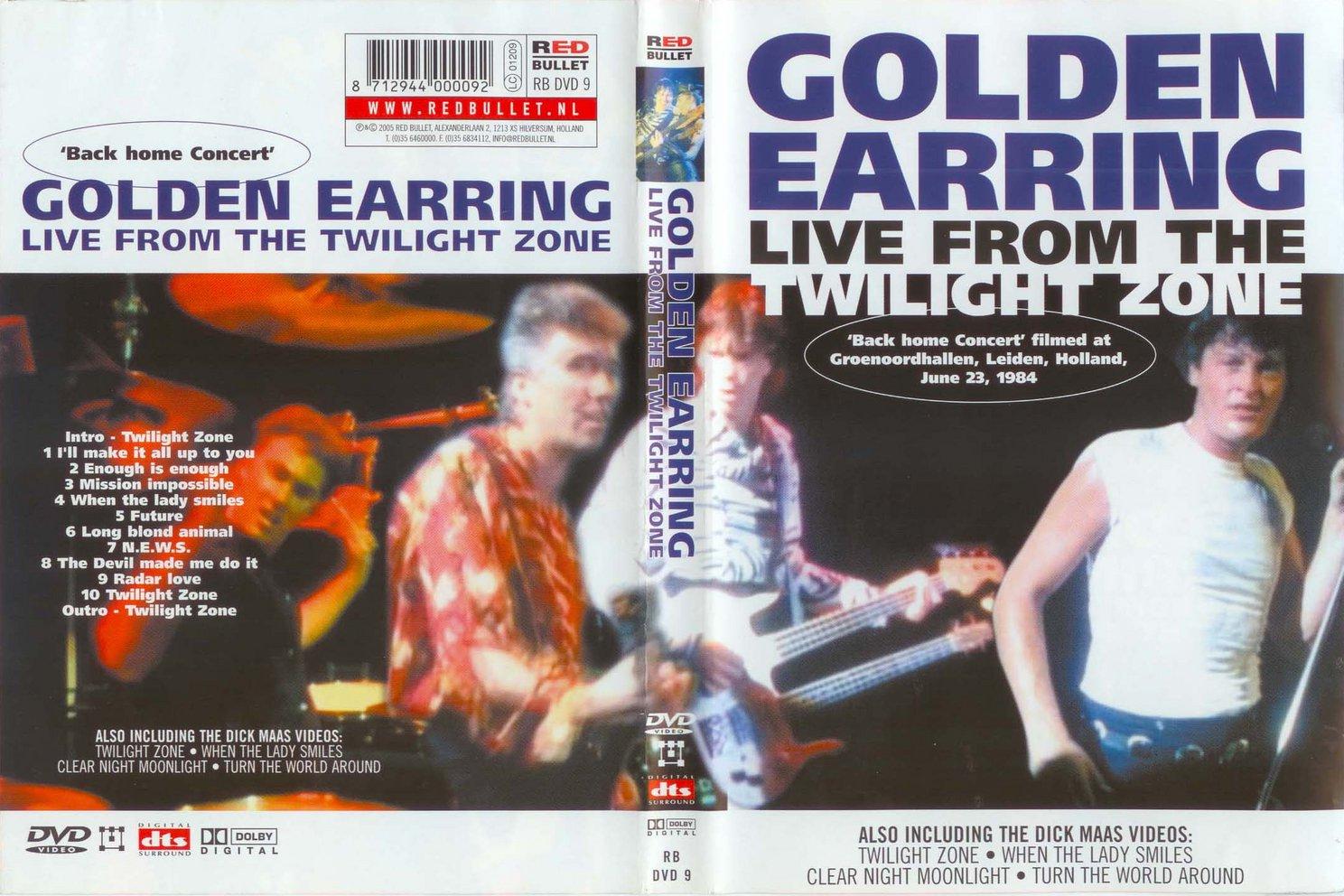 golden earring 1984 live dvd shellworks