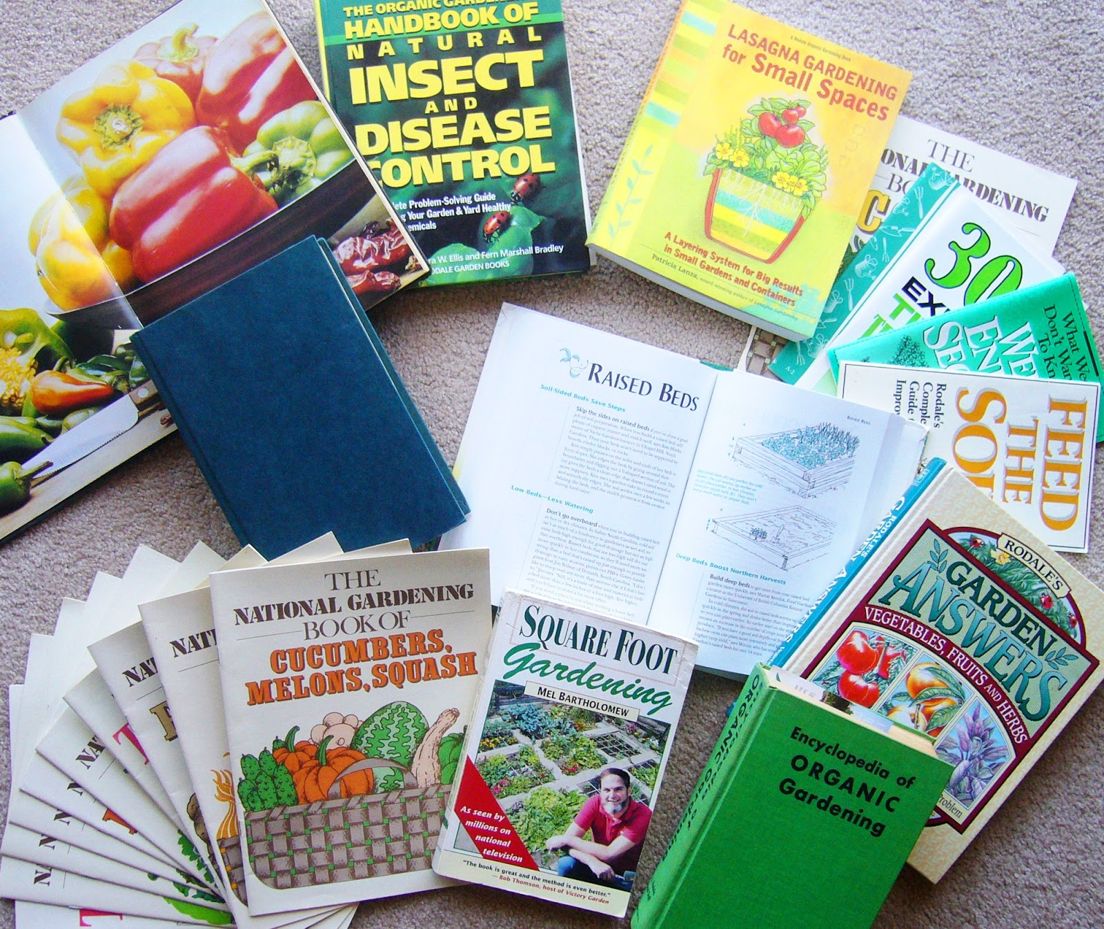 Square foot gardening book -  How To Incorporate Their Knowledge Into My Square Foot Garden Journey I Enjoy The Feel Of A Book In My Hands Over A Computer On My Lap While Learning