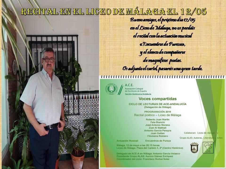 Recital Poético Liceo de Málag