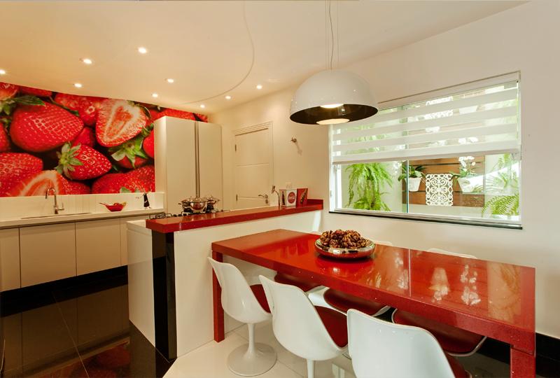 Construindo minha casa clean o que usar na parede da cozinha veja 10 tipos de revestimentos - Mesa de silestone ...