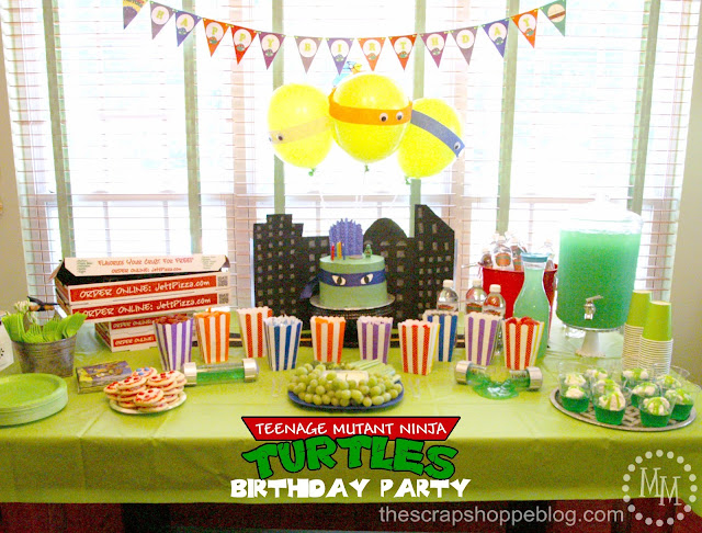 Southern Blue Celebrations Teenage Mutant Ninja Turtle Party Ideas
