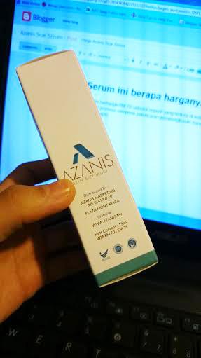 Harga Azanis Scar Serum