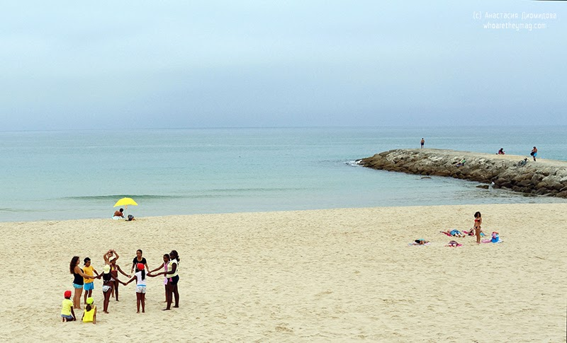 Туристы Португалия
