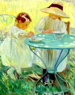 Tiempo de cerezas - Helen Galloway McNicoll (Canadá)