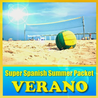 http://www.teacherspayteachers.com/Product/Verano-Summer-Multimedia-Review-Packet-Spanish-1-to-2-1248748