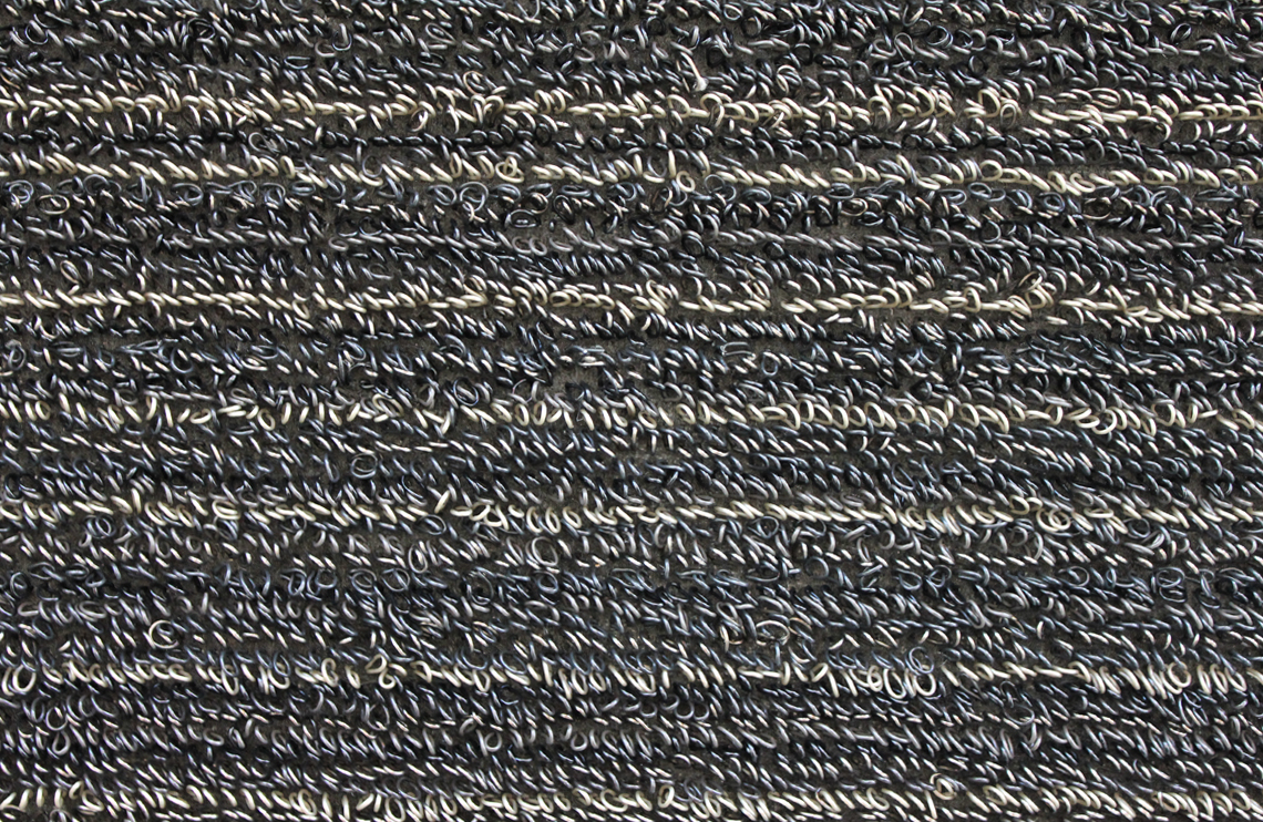 Chilewich Shag Skinny Stripe Indoor Outdoor Doormat