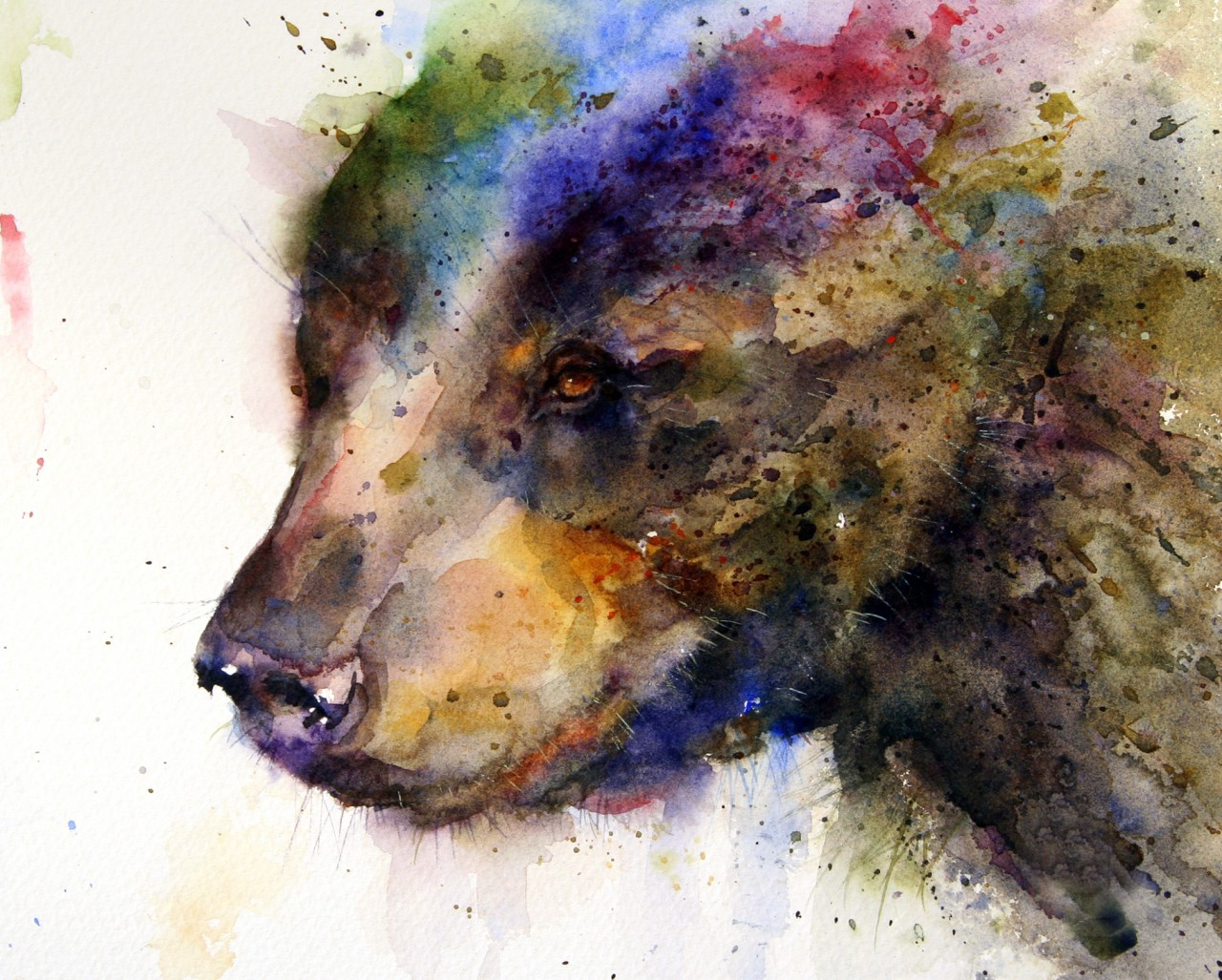 Simply Creative: Watercolor Animals Paintings by Dean Crouser: 4rtgallery.blogspot.com/2013/09/watercolor-animals-paintings-by...