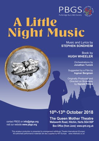 A LITTLE NIGHT MUSIC: 10th - 13th OCT 2018
