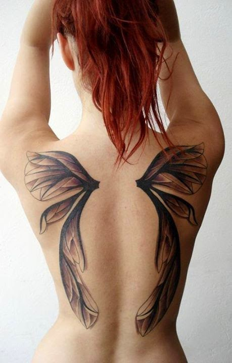3d Tattoos Ideas On Back.