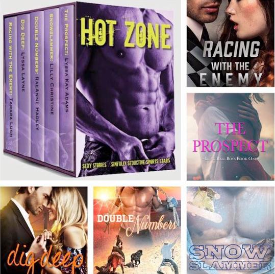 Hot Zone Book Blitz