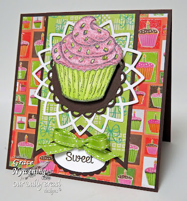 Our Daily Bread Designs, Cupcake Single