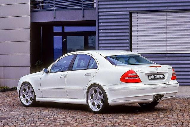 white w211 e320