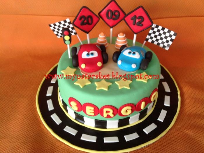 Mynata Cakes Car Birthday Cake For Sergio