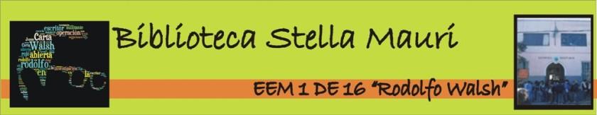 "Biblioteca ""Stella Maris Mauri"""