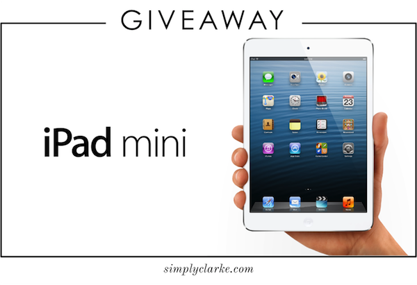 Giveaway | iPad Mini