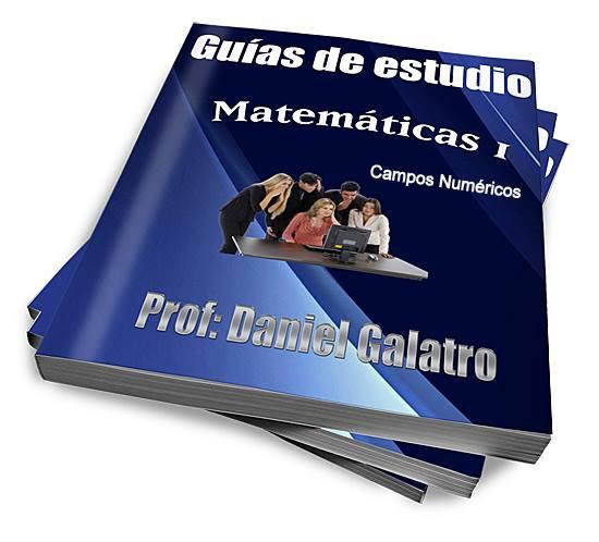 GUÍAS DE MATEMÁTICAS