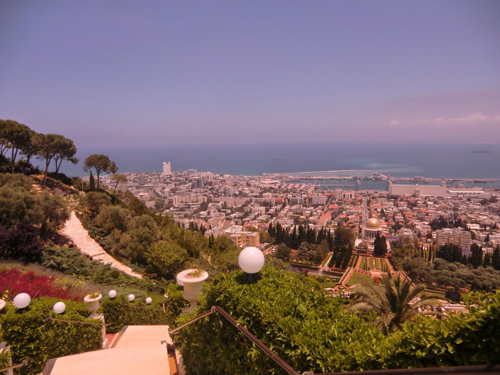 Панорама-Хайфы