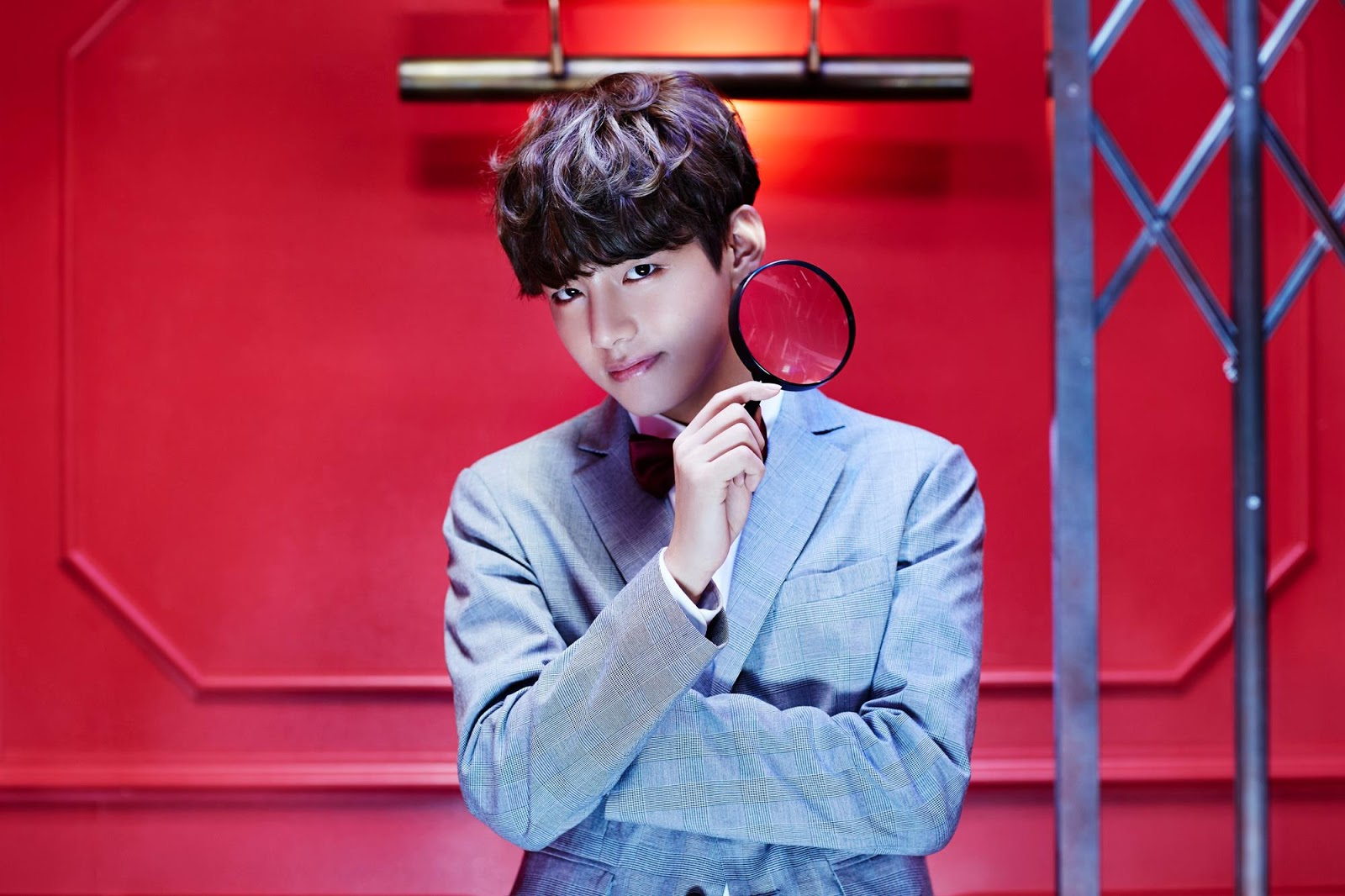 BTS Dope Sick teaser wallpaper V/Taehyung Version