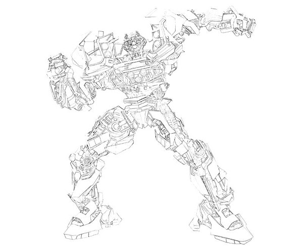 Transformers prime coloring pages optimus prime coloring for Ratchet coloring pages