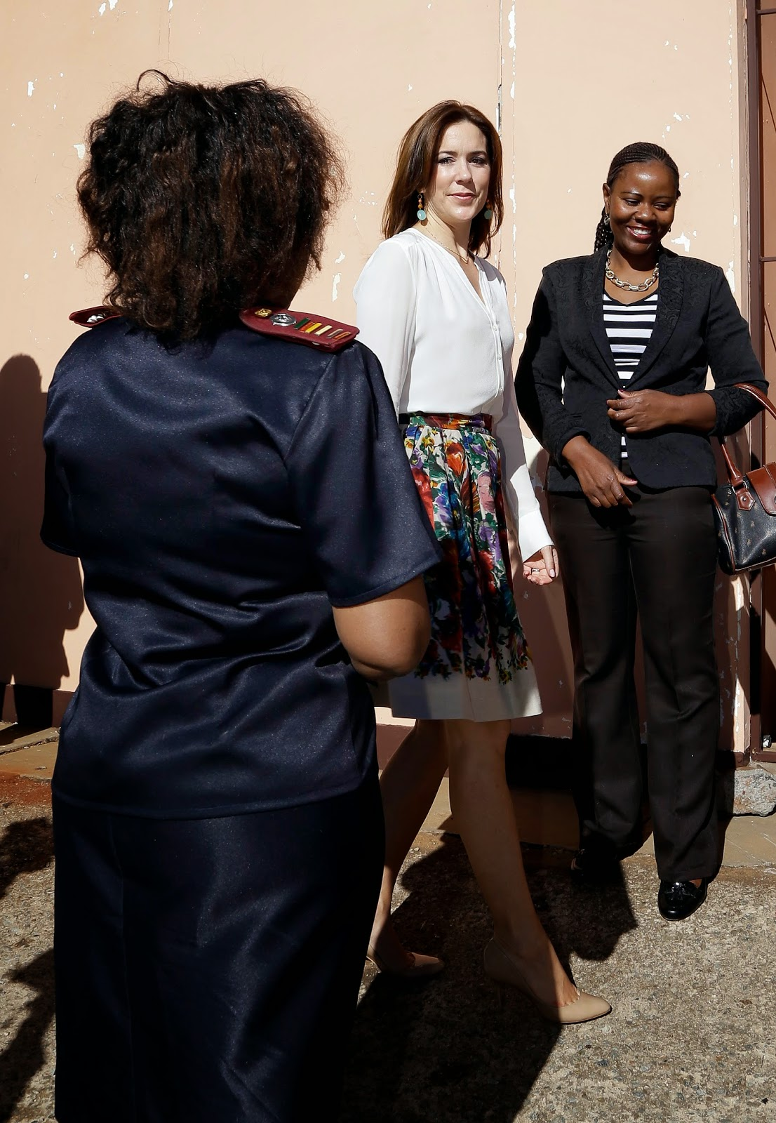 Crown Princess Mary visit to South Africa
