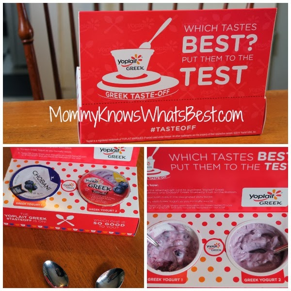 Greek Yogurt #TasteOff {Review} (Mommy Knows What's Best)