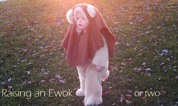 Raising an Ewok