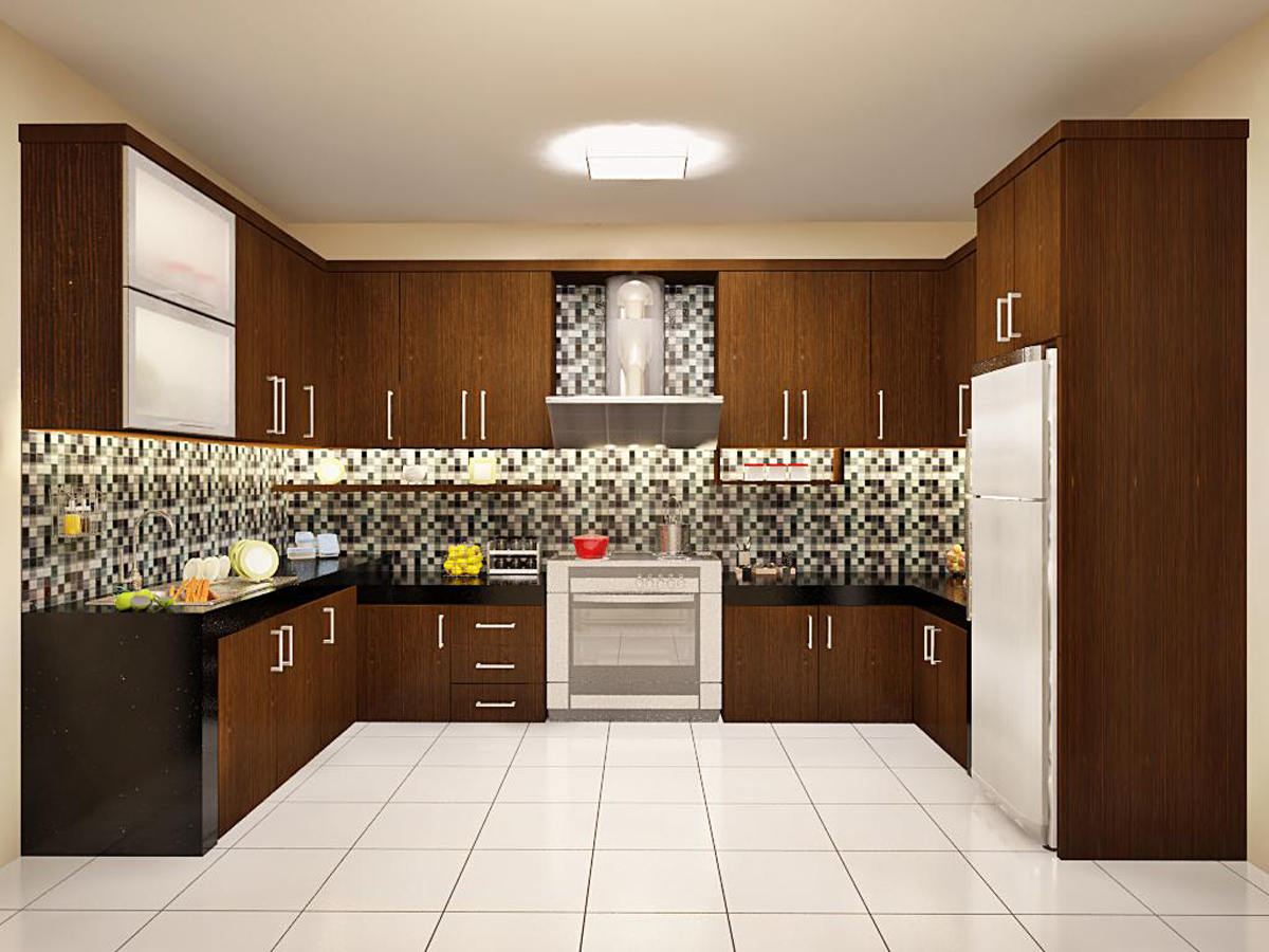 Kitchen set modern dian interior design for Kitchen set minimalist design