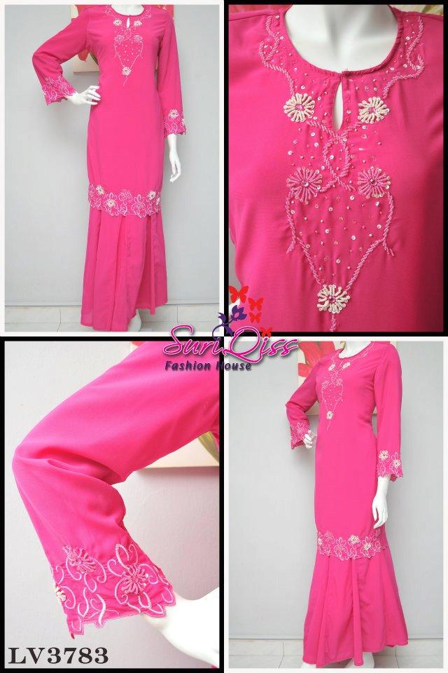 Baju Kurung Moden Kain Kembang Baju Kurung Moden