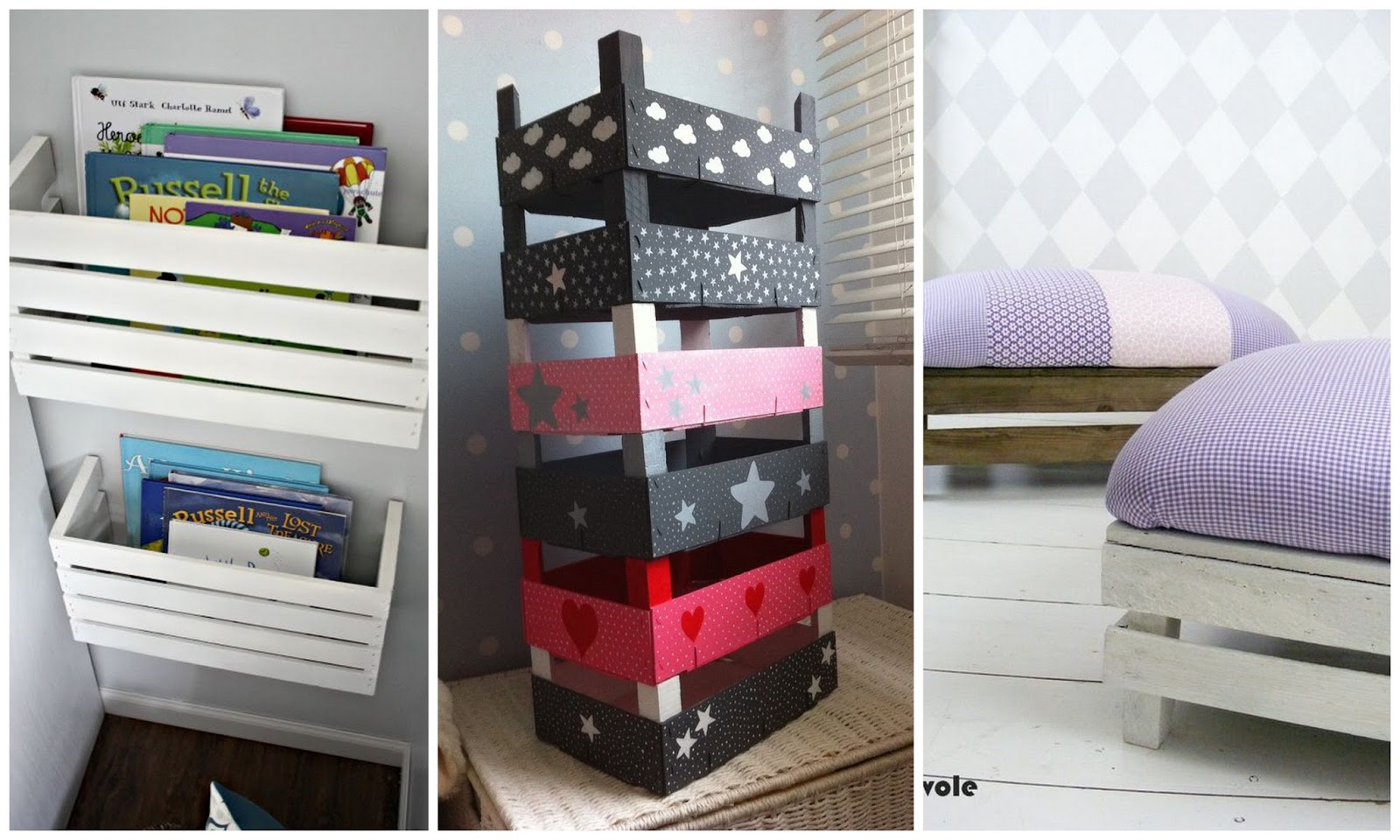Dolce hogar decorar con cajas de madera - Cajitas de madera para decorar ...