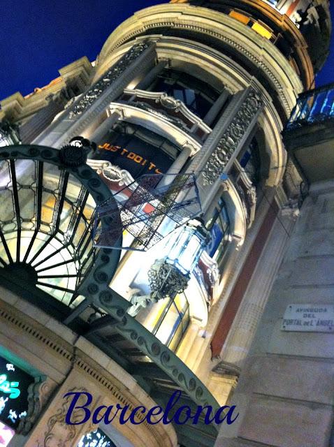 El Corte Ingles - Las Ramblas Barcelona