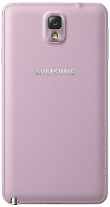 Samsung Galaxy Note 3 (rear)