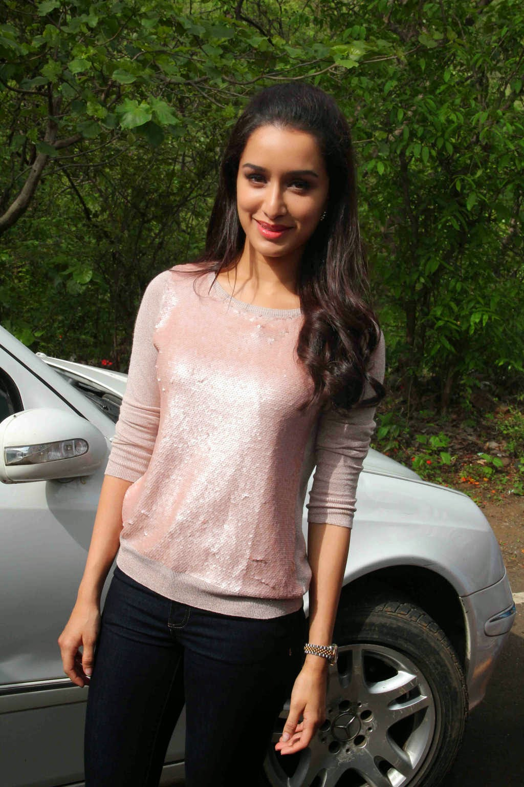 Actress Shraddha Kapoor in H&M Sweater