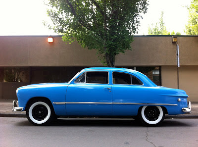 1949 Ford Custom 2-door sedan