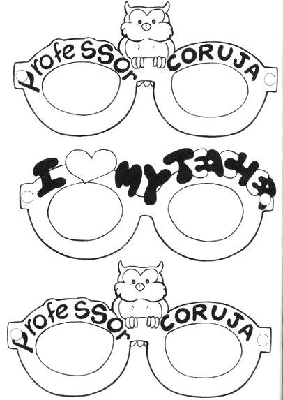 Óculos Professor Coruja
