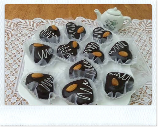 حلويات مغربية, حلوة بالشوكولا, بالشوكولا و الكريم, حلويات عصرية